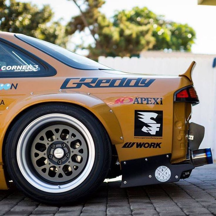 """Rocket Kit Lapin Boss Nissan Silvia"": radracerblog"