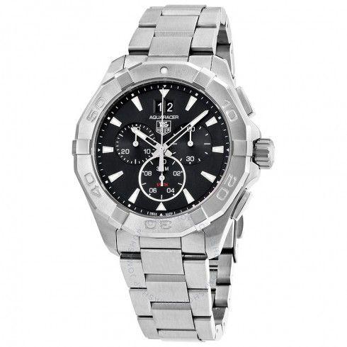 Tag Heuer Aquaracer Chronograph Black Dial Men's Watch CAY1110.BA0927