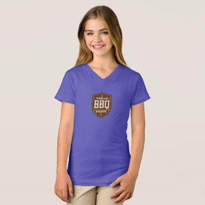 #Girls t-shirt - Texas BBQ Posse Logo - #cool #kids #shirts #child #children #toddler #toddlers #kidsfashion