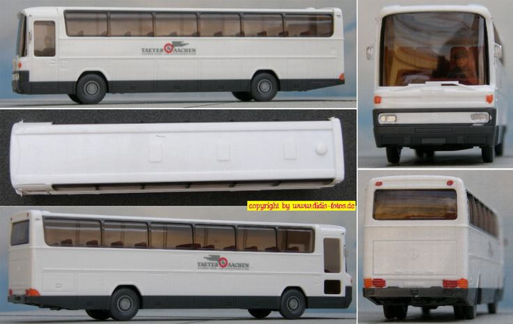 "Daimler-Benz O-303 RHD Reisebus ""Taeter Aachen"" (Wiking 713)"