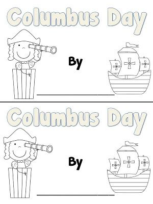 Fun in First Grade: Columbus Day