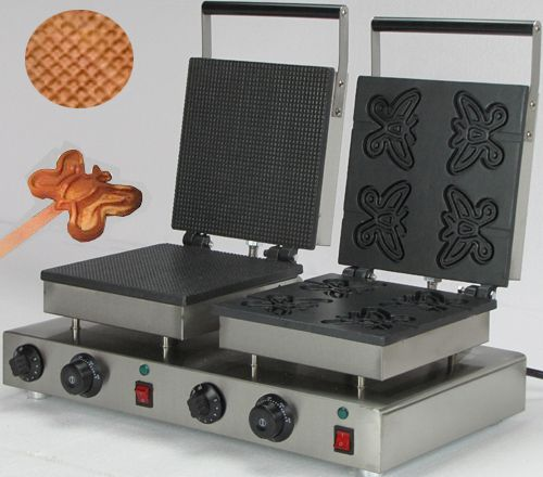 Commercial  Electric double baker butterfly shaped  waffle maker //Price: $US $308.00 & FREE Shipping //     #cleaningappliances