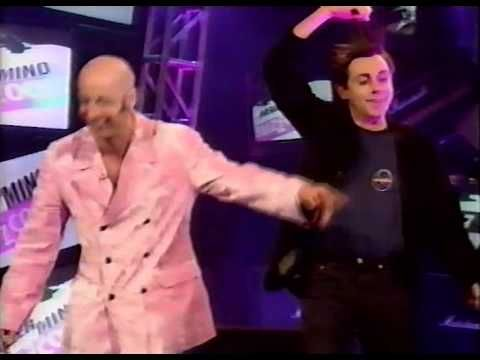 The very first episode of Nevermind The Buzzcocks, with Sean Hughes, Mark Lamarr, Phil Jupitas, Bruce Dickinson, Richard Fairbrass (Right Said Fred), Donna McPhail...and the drummer from Dodgy.