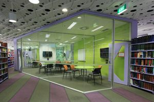 group study rooms in library - @ UNSW library