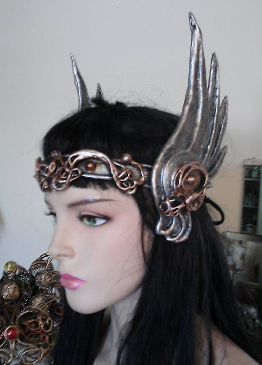 Walkyrie winged headdress by Organic Armor