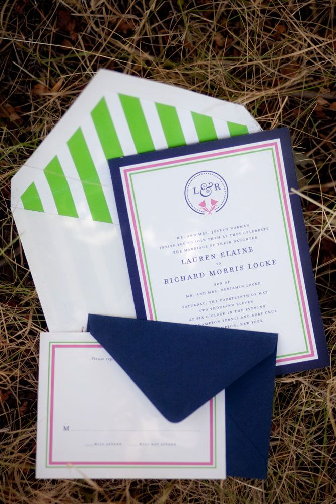 Flat, Navy, Preppy Wedding #wedding invitations & wedding stationery ... Wedding ideas for brides, grooms, parents & planners ... https://itunes.apple.com/us/app/the-gold-wedding-planner/id498112599?ls=1=8 … plus how to organise an entire wedding ♥ The Gold Wedding Planner iPhone App ♥