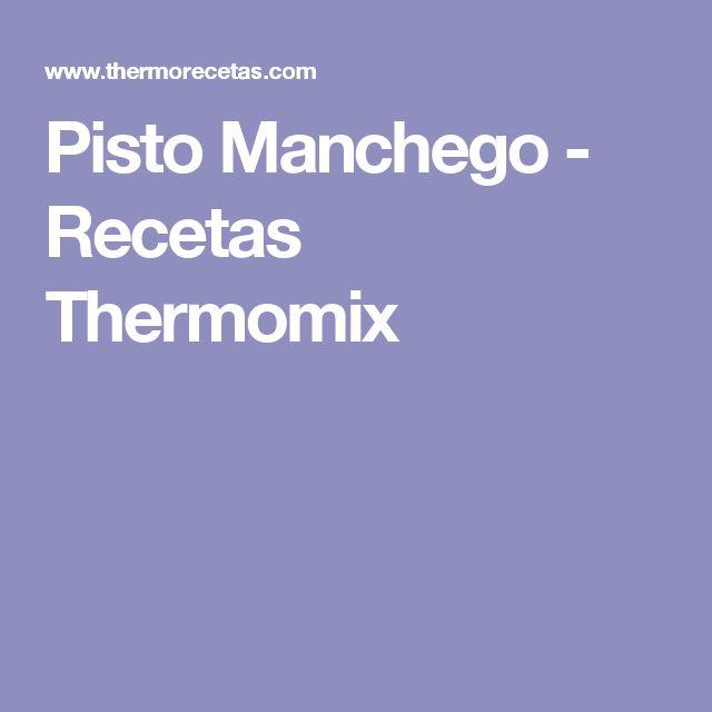 Pisto Manchego - Recetas Thermomix
