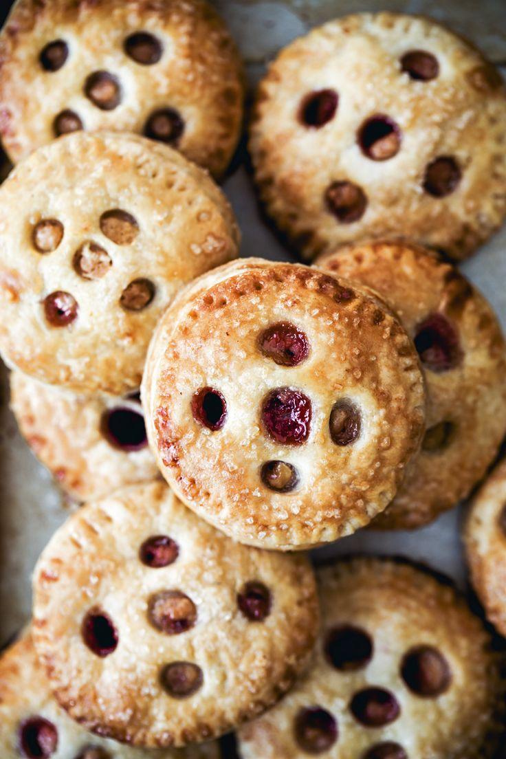 Mascarpone Strawberry Lime Hand Pies via baked-theblog.com
