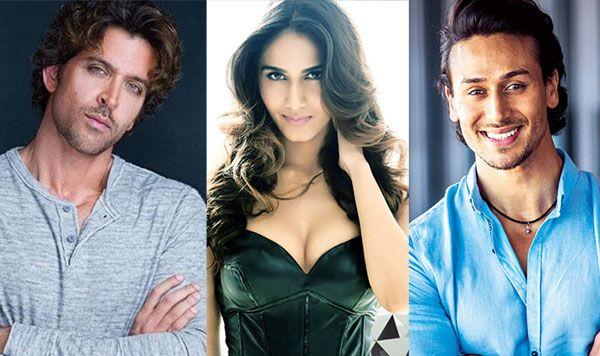 Vaani Kapoor, Hrithik Roshan & Tiger Shroff in YRF's Next