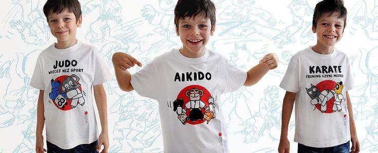 JUDO / AIKIDO / KARATE - t-shirts - enjoy ;)