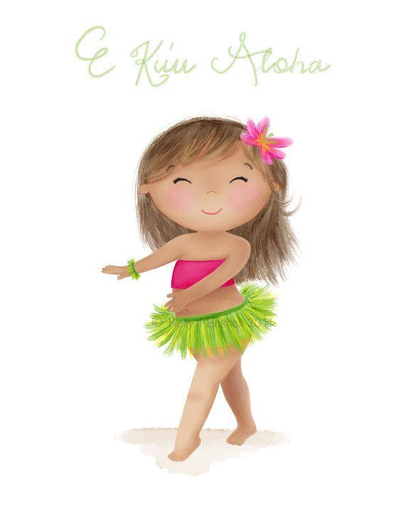 ♥ E Ku'u Aloha (My Love)♥ Children's Art Print by Sweet Cheeks Images. $12.00 AUD