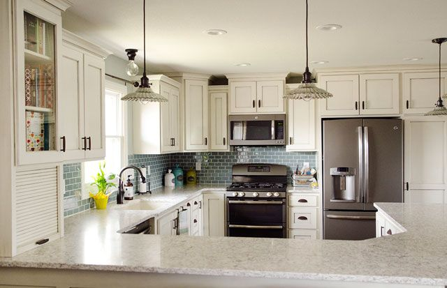 New Kitchen Remodel House -VT Industries Midnight Eclipse Quartz Countertops