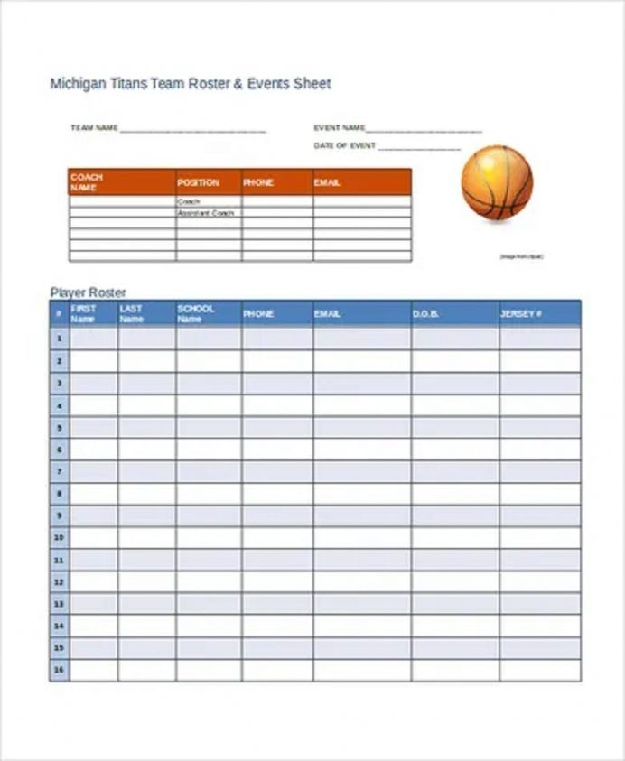 Team Roster And Schedule Template Roster Schedule Template Weekly Schedule Template Word Team Roster Template Excel Monthly Roster Template Weekly Schedule Tem