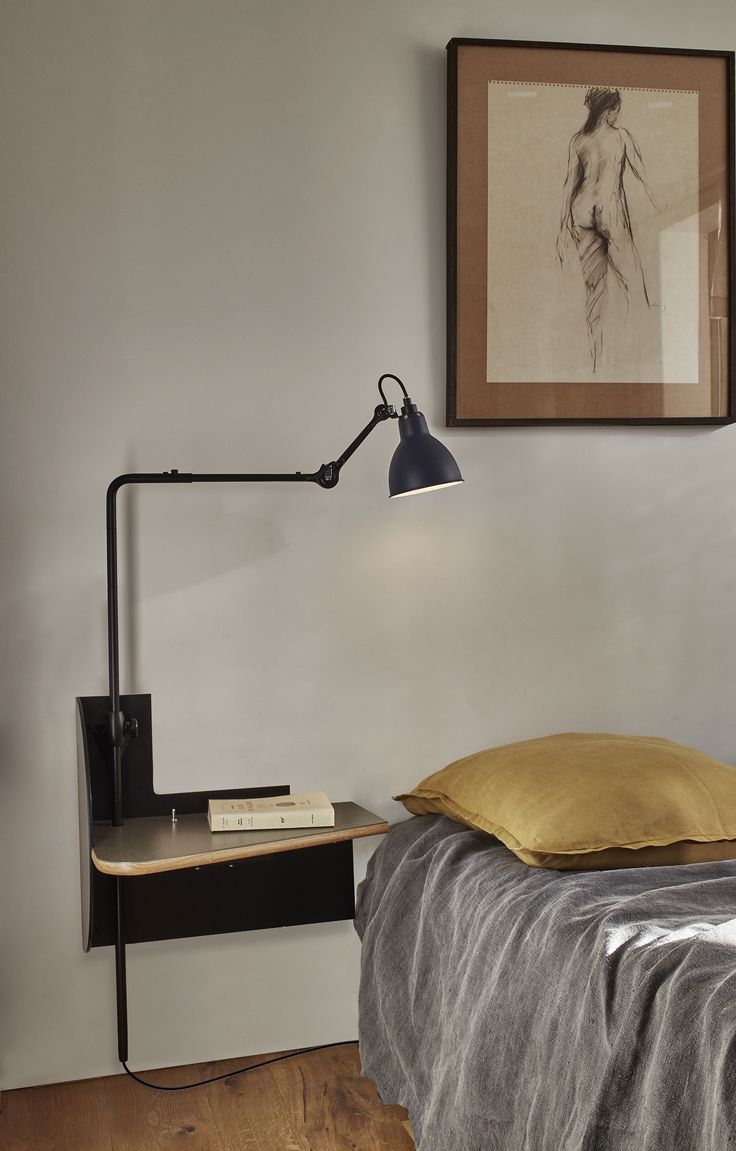 "Le Mobilier de Gras edited by DCW éditions | Bedside table ""Plug & Dream"" with Lampe Gras N°216"
