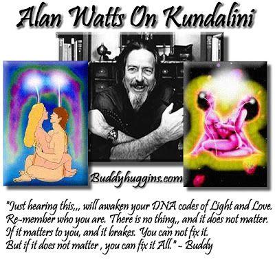 I AM Buddy, The BUDDHA From Mississippi ™: Alan Watts On Kundalini: