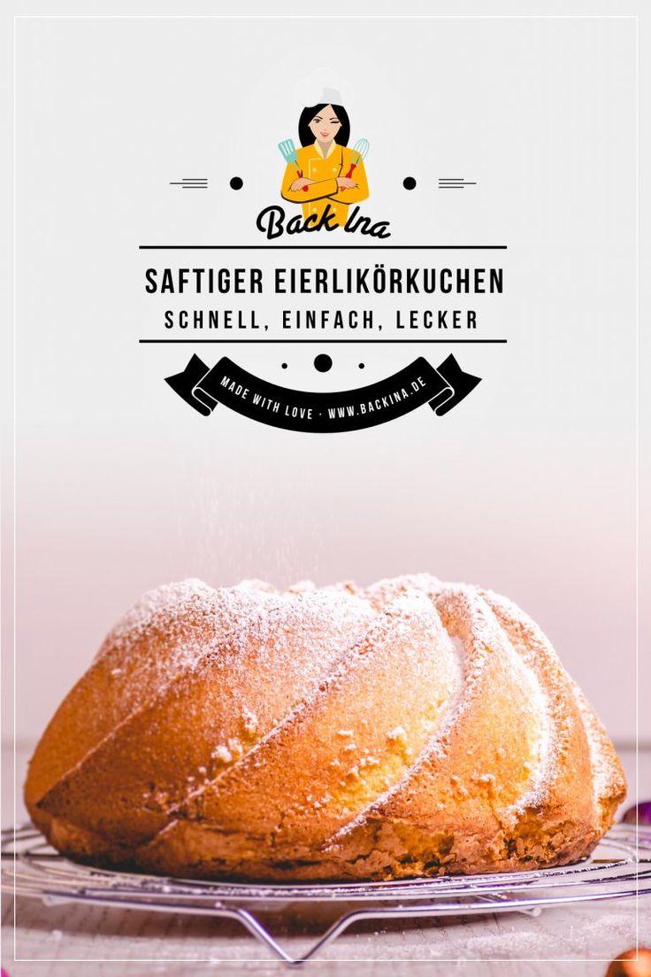 Der beste saftige Eierlikörkuchen mit Öl statt Butter