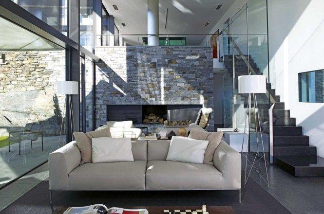 Various Living Room Décor: Awesome Modern Cream Sofa ~ kepoon.com Contemporary Home Design Inspiration