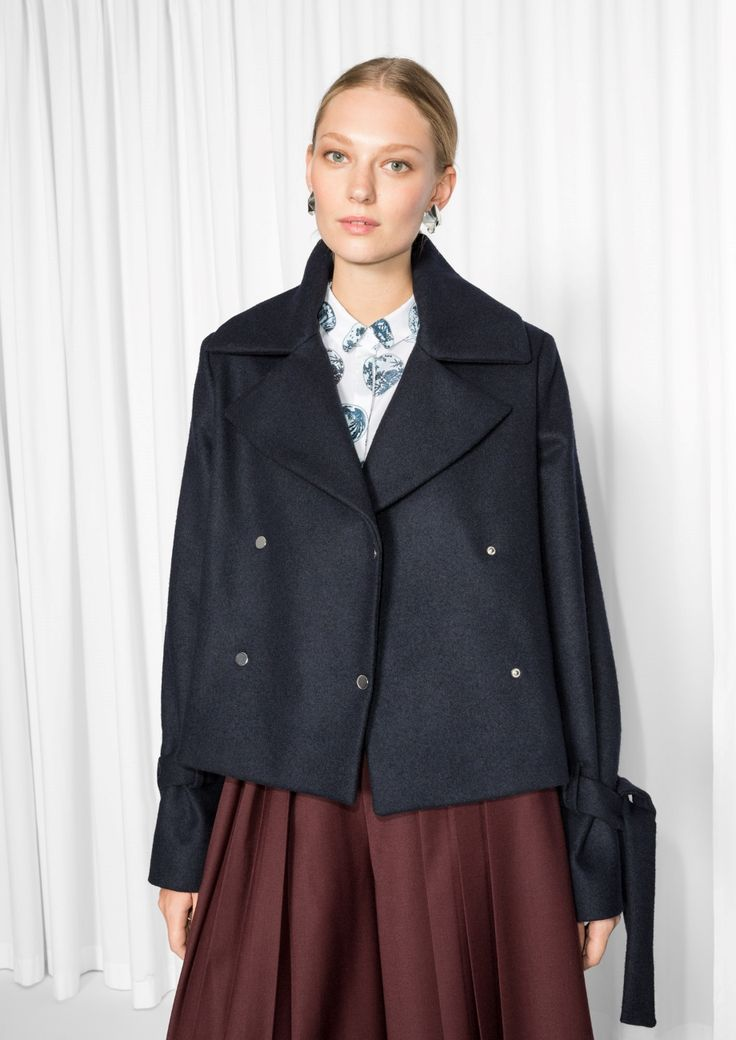 & Other Stories | Tailored Pea-Coat