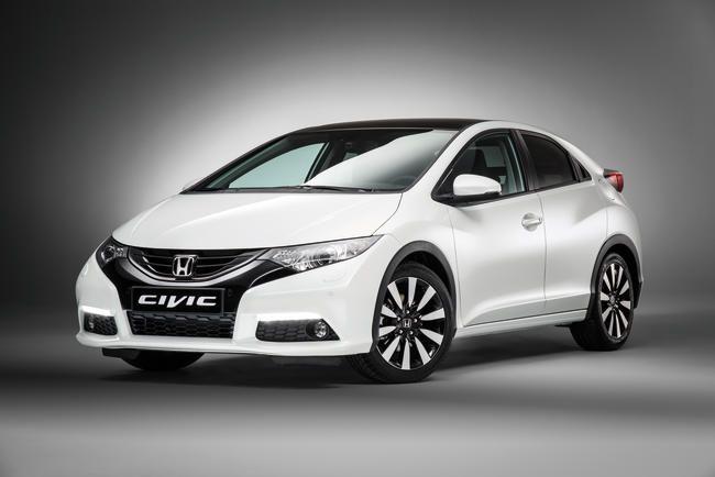 Novo Honda Civic Europeu vem com um apelo mais esportivo e com a frente mais agressiva. Fotos: Honda press Espanha
