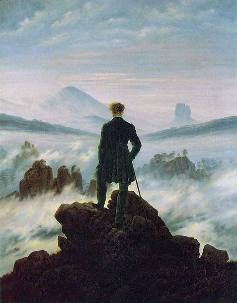Wanderer Above the Sea of Fog, 1818 ~ Caspar David Friedrich.