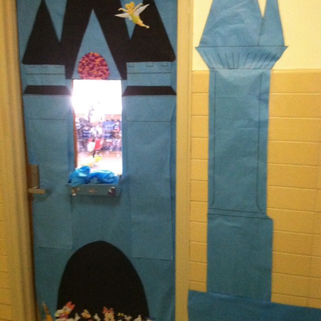 Disney World at School : disney door - Pezcame.Com
