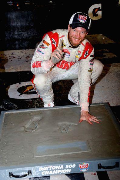 Dale Earnhardt Jr., Daytona 500. That should be 2! Second Daytona 500!