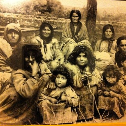 Roma people from Spain date 1920 (one of the people historians believe were included in the group called gypsy, unclear as to their origin, however it is believed they came from what is now India)