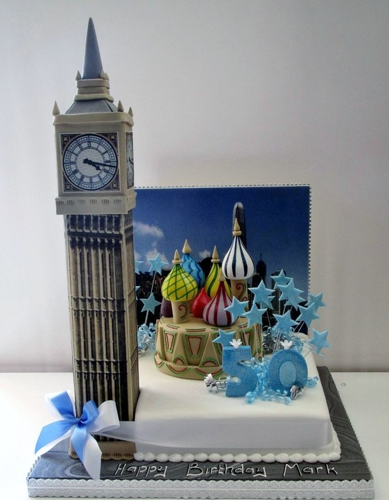 London to Moscow Cake - The Cake Store