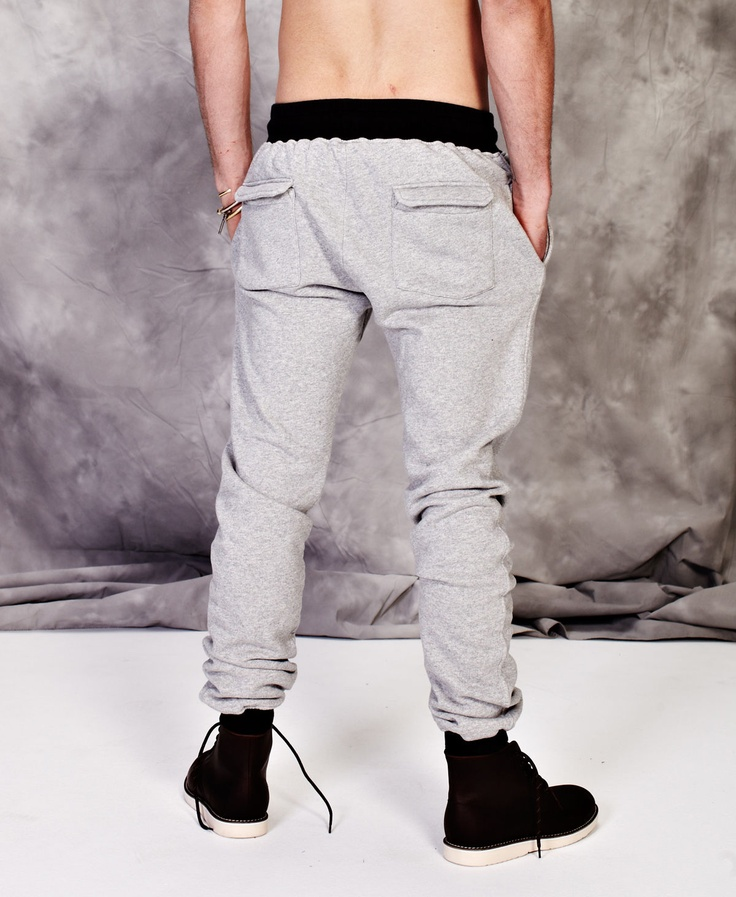 Kiss Chacey Cable Leg Trackies (Grey Marle) $89.95