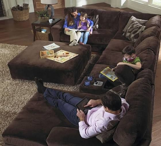 shop oversized sectional sofas - Google Search