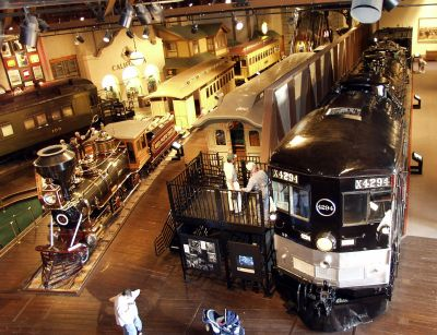 California State Railroad Museum  incl riverside steam train excursions  2nd & I streets  Old Sacramento, CA   Been here, it is so great! Very cool.
