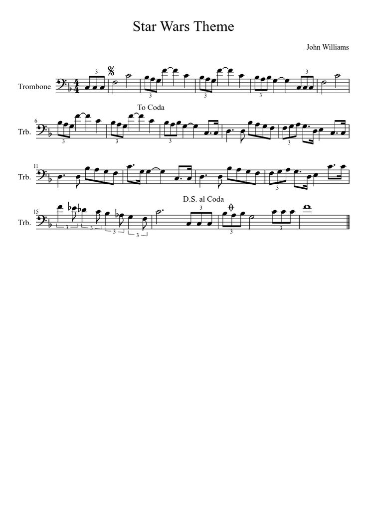 How To Play The Star Wars Theme On Tuba 22
