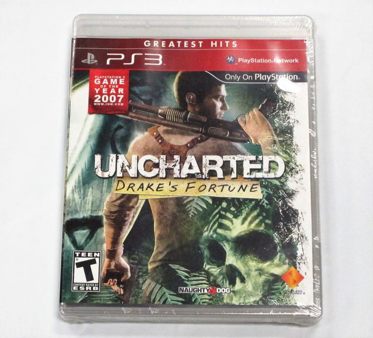 Uncharted: Drake's Fortune  for PlayStation 3 PS3 *BRAND NEW!!* (GREATEST HITS)