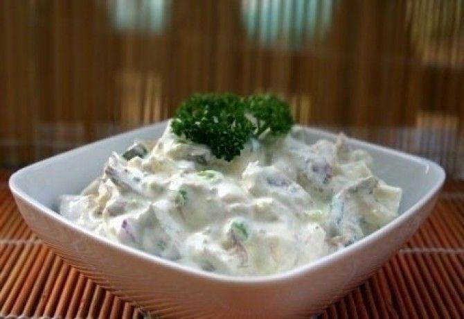 Orosz hússaláta recept képpel. Hozzávalók és az elkészítés részletes leírása. Az orosz hússaláta elkészítési ideje: 20 perc