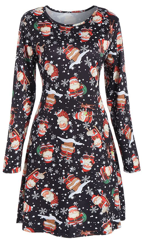 Highly Recommend it.50% OFF Christmas Print Dresses.Shop This Look,Free Shipping Worldwide.