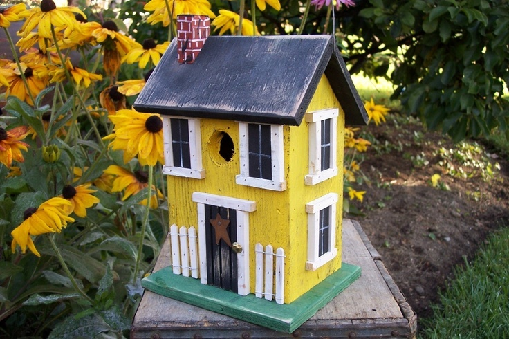 127 Best Images About Bird Houses On Pinterest Growing
