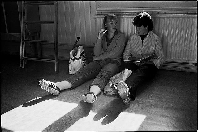 Schillerska Gymnasiet Goteborg 1984 by bjornra, via Flickr
