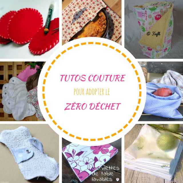 10 DIY couture pour commencer une vie zéro déchet