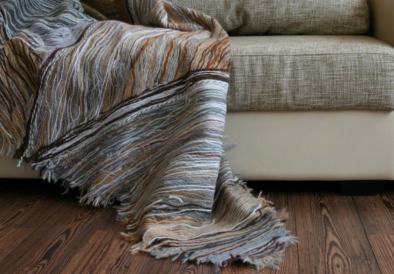 Couch cover throw handmade by Yaga on Etsy, $600.00