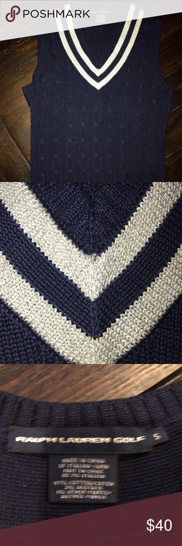 Ralph Lauren Golf pull over sweater vest Gently used knit pull over knit vest Ralph Lauren Other
