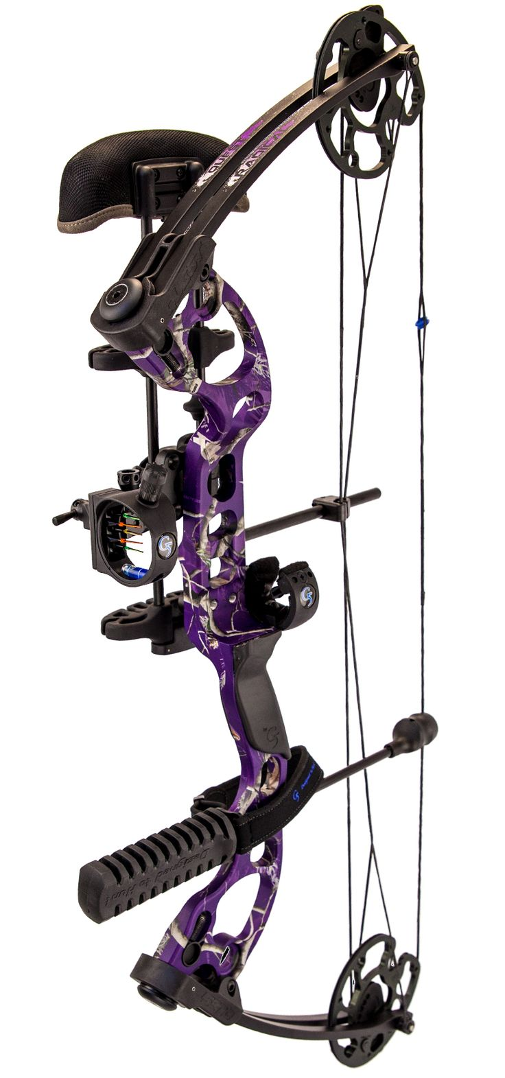 """G5 Quest Bows purple 