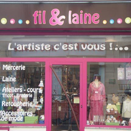 Fil et Laine,  43 rue Traversière  75012 Paris (12) Tél.: 06 20 45 71 25 Du lundi au mercredi de 11h à 19h30 Jeudi de 11h à 20h30 Vendredi de 11h00 à 19h30 Samedi de 10h30 à 18h