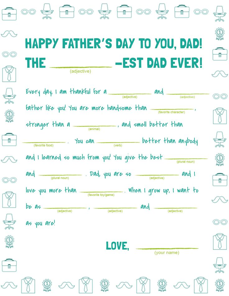 father's day kid cards