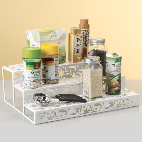 Countertop Spice Organizer : ... spice rack organizer makes it very easy to find smaller items that are