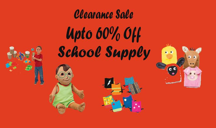 Clearance Sale: Enjoy upto 60% Off on School Supply. For more Discount School Supply Coupon Codes Visit HotCouponsCode.com. #BacktoSchool #discount #Toddlers #School #Kids #Toys