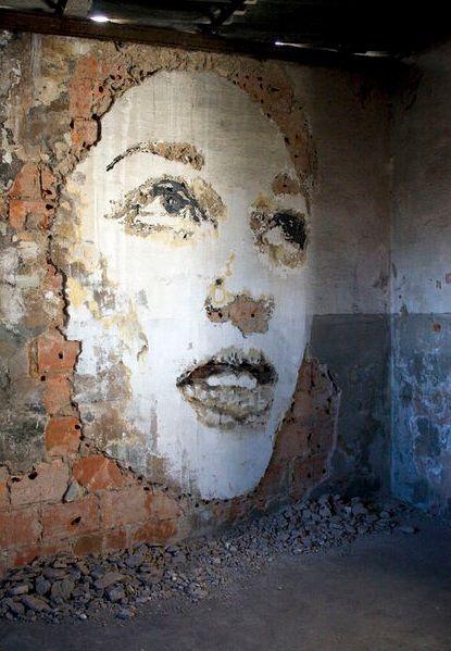 Street Art Sculptures by VHILS