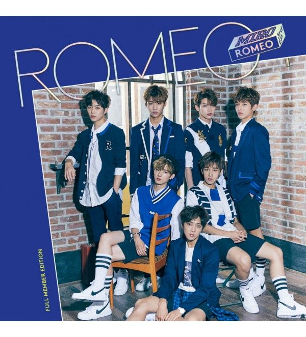 #Romeo - 3rd Mini Album:Miro #CD (Full Member Edition).Buy only for $10.87 Visit Now @ http://www.catchopcd.net/en/kpop-cd-dvd/5119-romeo-3rd-mini-album-miro-cd-full-member-edition.html #kpop
