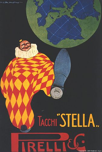 Vintage Italian Posters ~ #illustrator  #Italian #vintage #posters ~ Nino Nanni - Tacchi Stella, 1916   #TuscanyAgriturismoGiratola