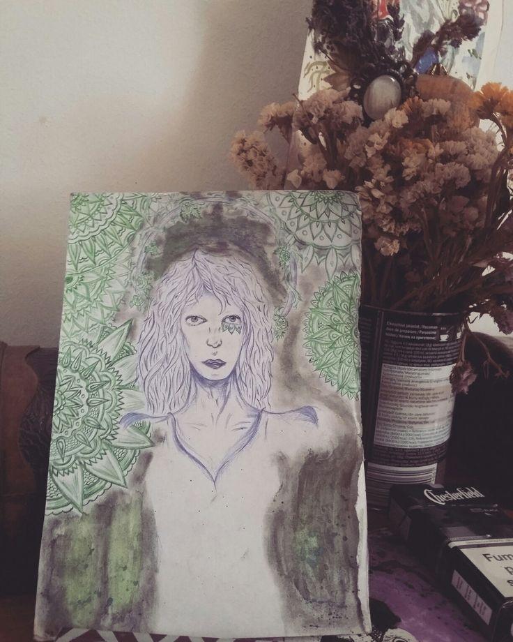 sketch, smokes and mandalas