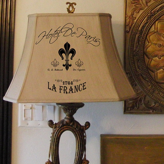 36 best modding images on pinterest firearms steampunk and weapons find a lamp shade goodwill use my fleur de mozeypictures Image collections